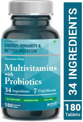 Carbamide Forte Multivitamin Tablets for Men and Women with Probiotics Supplement