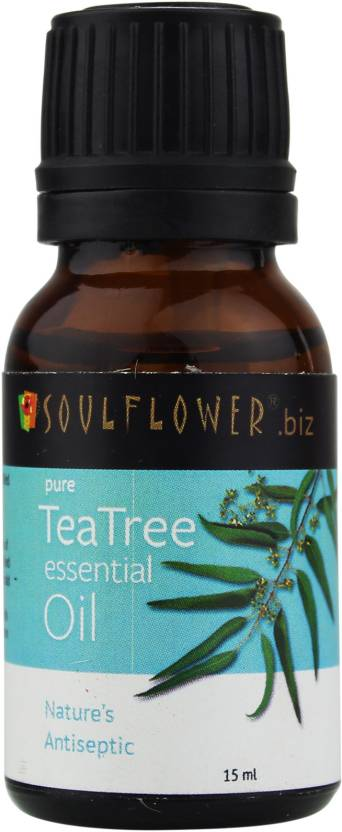 Soulflower Pure Tea Tree Essential Oil - 15ml-0