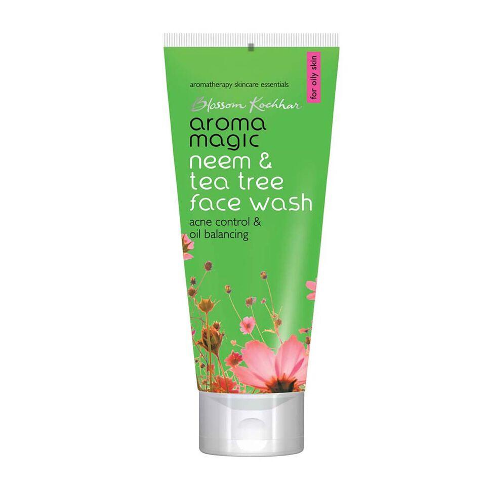 Aroma Magic Neem & Tea Tree Face Wash - 100ml-0
