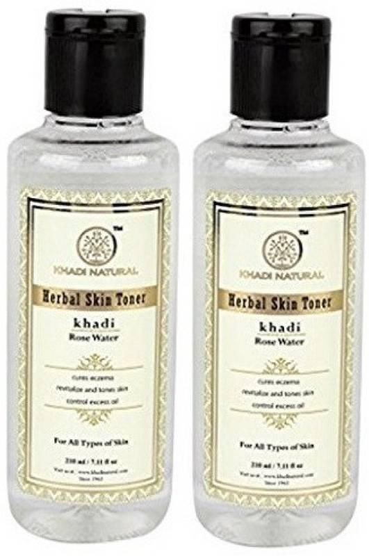 Khadi Natural Khadi Pure Rose water toner set of 2