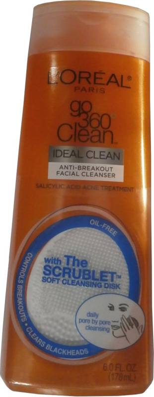 L'Oreal Paris Go 360 Degree Clean Anti-breakout Facial Cleanser