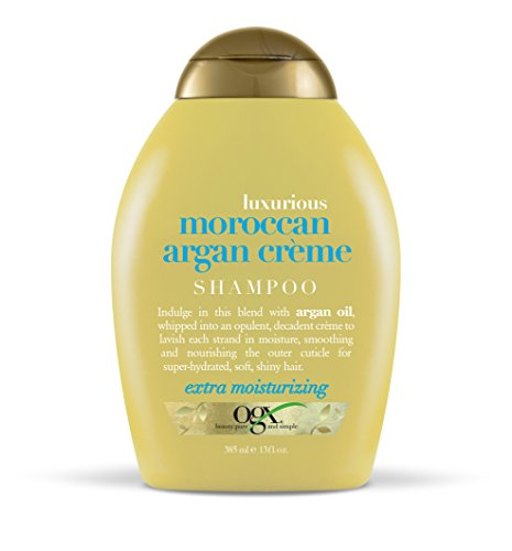 OGX Luxury Moroccan Argan Cream Shampoo, 385ml