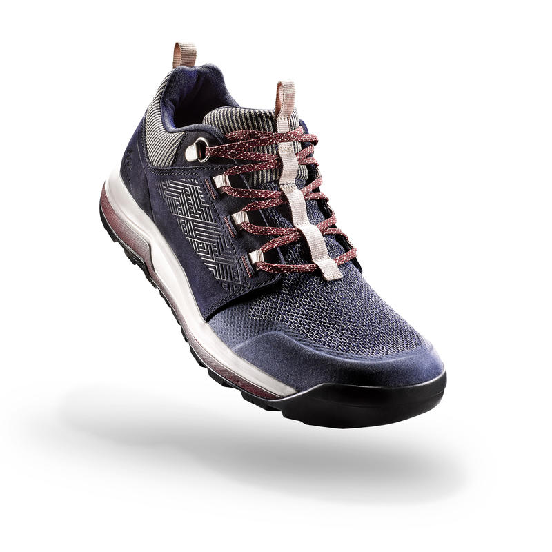 Women's Hiking Shoes NH500 - Navy