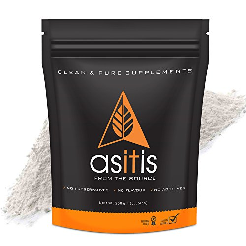 AS-IT-IS Nutrition Pure Creatine Monohydrate for Muscle Building (250 gm)