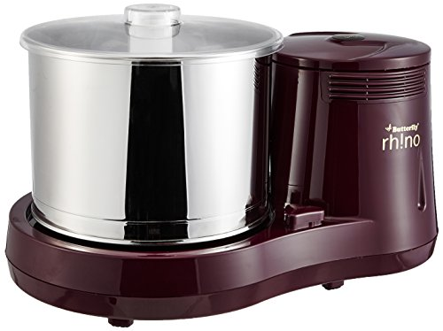Butterfly Rhino Table Top Wet Grinder, 2L (Cherry)