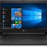 HP 14q APU Dual Core A9 - (4 GB/256 GB SSD/Windows 10 Home) 14q-cy0006AU Thin and Light Laptop