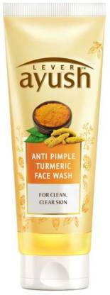Lever Ayush Anti Pimple Turmeric Face Wash, 80g Face Wash  (80 g)