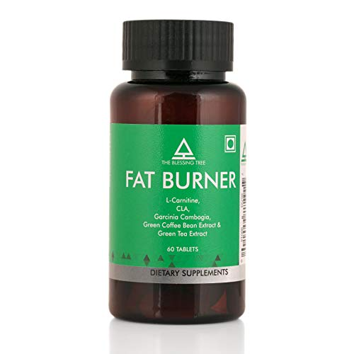 The Blessing Tree Fat Burner -1200 mg with L-Carnitine, CLA, Garcinia Cambogia, Green Coffee Beans and Green Tea Extracts-60 Tablets