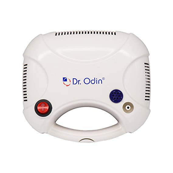 Dr. Odin Nebulizer For Kids and Adults with Latest Piston Compressor Technology With Strong Working Air Flow-303