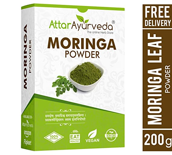 Attar Ayurveda Pure Moringa Powder - 200 g