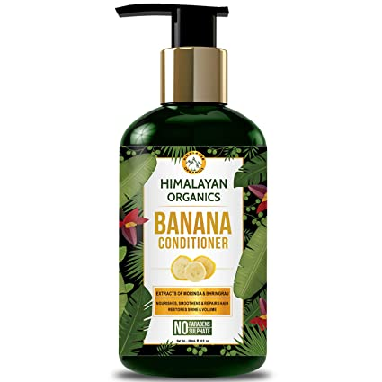 Himalayan Organics Banana Conditioner for Dry and Frizzy Hair - 300ml