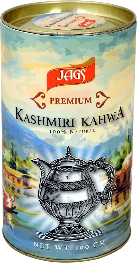 JAGS 001 Cardamom, Cinnamon, Almond, Honey Yellow Tea Box (100 g)