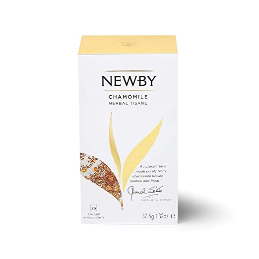 Newby Chamomile Herbal Tisane Tea, 25 Tea Bags