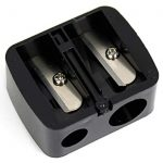 Note Italy Sharpener, Black, 10g