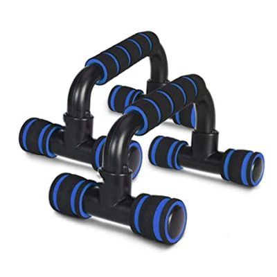 HNESS Push Up Bars Stand with Foam Grip Handle for Chest Press, Home Gym Fitness Exercise, Strength Training, Push Up Bar, Push Up Bars Stand for Men and Women, Exercise Equipment for Home,Gym