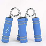 Fitkit FK97002 Foam Hand Grip Pair (Blue)