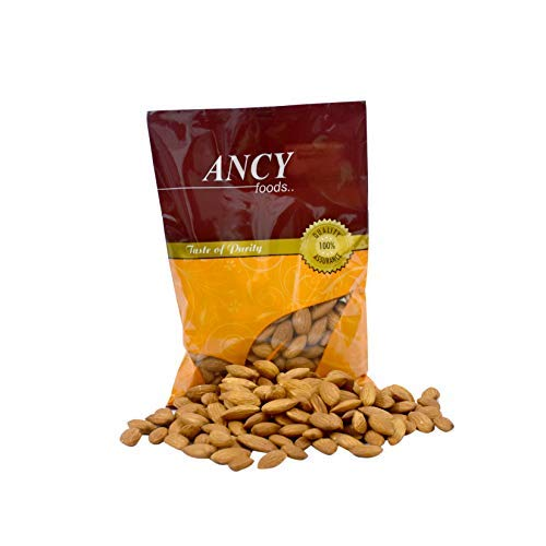 Ancy 100% Natural Quality Raw Almonds/Badam Dryfruits 500g (2x250g)