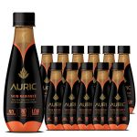 AURIC Glow Skin Natural Juice | Aloe Vera, Amla, Coconut Water | Skin Radiance | 12 bottles x 250ml