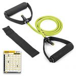 FEGSY Resistance Tube Exercise Bands for Stretching, Workout, and Toning for Men, and Women (Multicolor)