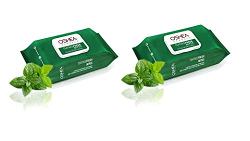 Oshea Herbals Tea Tree Fresh Wipes For Acne And Pimple Control- Set Of 2 (30 Wipes Each)