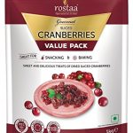 Rostaa Value Pack, Cranberry Slice, 1kg (Gluten Free, Non-GMO & Vegan)