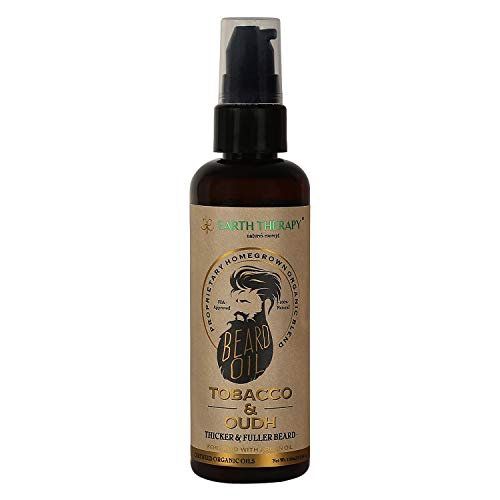 EARTH THERAPY Beard Oil For Beard and Moustache Nourishment