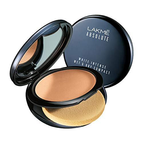 Lakme Absolute White Intense Wet and Dry Compact (Golden Medium 03, 9 g)
