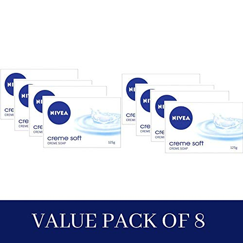 Nivea NiveaCreme Soft Creme Soap, 125g (Pack of 4) (4 x 125 g)