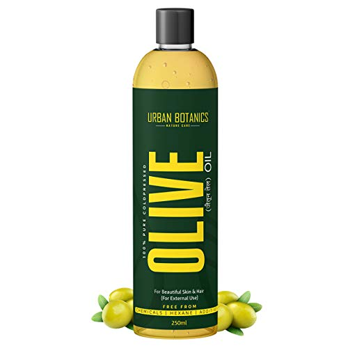 UrbanBotanics Pure Cold Pressed Olive Oil For Hair and Skin