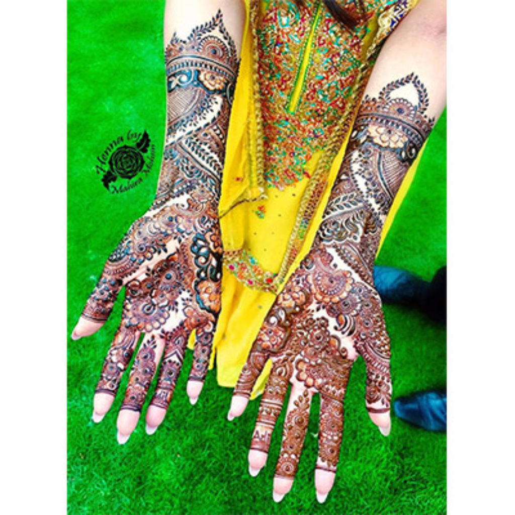 easy mehendi design