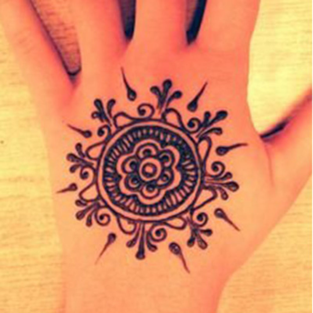 mehendi design easy
