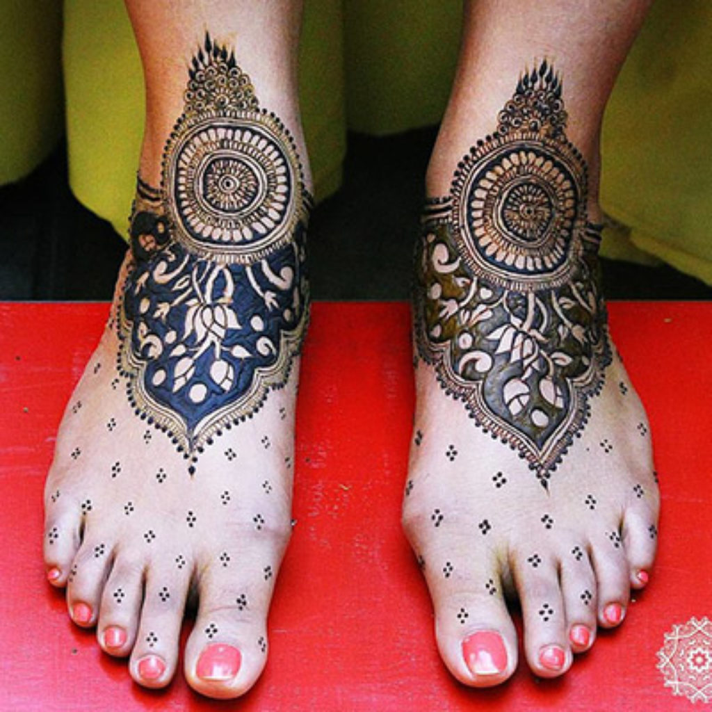 indian mehendi design